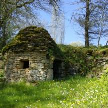 cabane pierre pour site